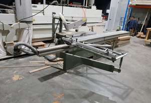 ALTENDORF F-45 panel saw with 3.8m bed, bearings just replaced and both blades brand new
