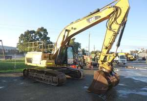2011 Caterpillar 329DL Hydraulic Steel Tracked Excavator with Four Buckets
