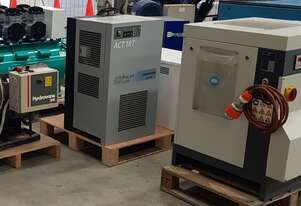 Used 7.5Kw to 110Kw CHAMPION + COMPAIR + ELGi + PULFORD Screw Compressors