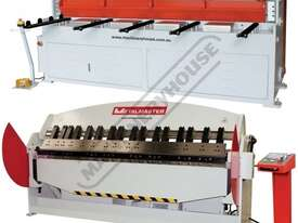 HG-840B & PB-830A Hydraulic NC Guillotine & NC Panbrake Package Deal Guillotine - 2500 x 4mm, Panbra - picture0' - Click to enlarge