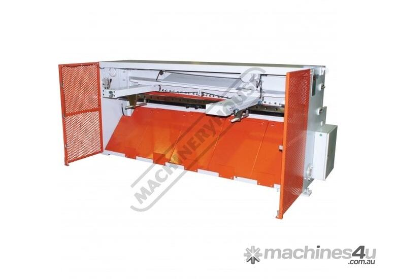 HG-840B & PB-830A Hydraulic NC Guillotine & NC Panbrake Package Deal Guillotine - 2500 x 4mm, Panbra