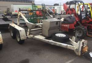 3.5ton atm cable drum trailer , drum drive , low hrs , 2015 model , 1 left in stock