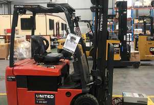 Used 1.5T Nissan 3-Wheel Forklift