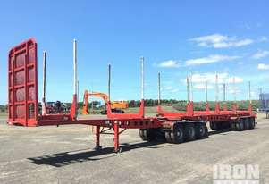2014 (unverified) MaxiTrans B-Double Combination Log Trailer
