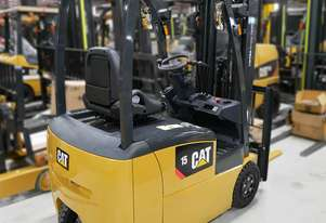 CAT 1.5T 3-Wheel Electric Forklift EP15TCB