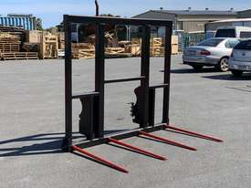 4 Spear Hay Forks - John Deere Q-Latch Mount - Excess Stock - picture2' - Click to enlarge