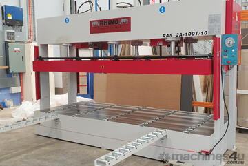 HYDRAULIC COLD PANEL PRESS W PLATEN SIZE 3650X1500MM *IN STOCK*
