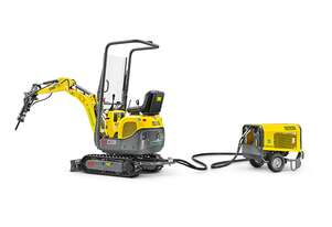 New Wacker Neuson 803 Dual Power Excavator