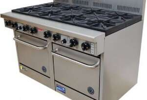 Goldstein PF8220 - 8 Gas Burner With Double Oven