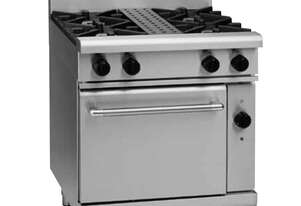 Waldorf 800 Series RNL8510GEC - 750mm Gas Range Electric Convection Oven Low Back Version