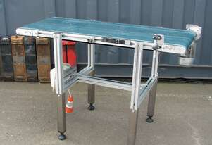 Motorised Belt Conveyor - 1.28m long