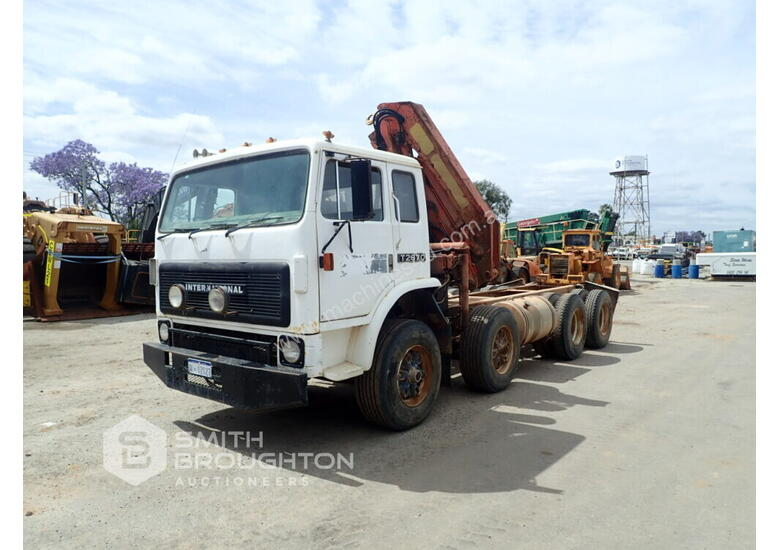 1991 INTERNATIONAL T2670 8X4 CAB CHASSIS CRANE TRUCK