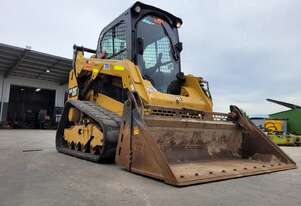 USED 2018 CAT 259D TRACK LOADER WITH LOW 1003