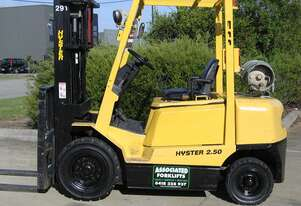 ** RENT NOW **   HYSTER 2.5t LPG Forklift with Container mast