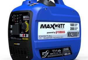 MAXWATT MX2000iY – 2000W (POWERED BY YAMAHA) PURE SINE WAVE DIGITAL INVERTER GENERATOR