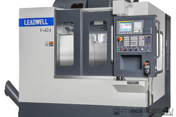 LEADWELL V-52AF MACHINING CENTRE   FANUC   X -1270MM   CTS   4TH AXIS READY