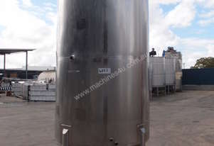 Stainless Steel Mixing - Capacity 4,000 Lt.