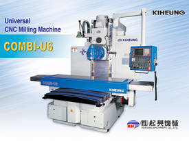 Combi U6 Universal Milling Machine - picture0' - Click to enlarge
