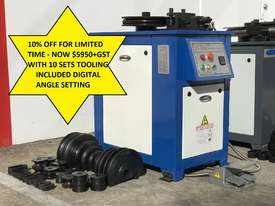 10% Off Limited Time Digital 40mm Tube & Pipe Bender 10 Sets Tooling - picture0' - Click to enlarge