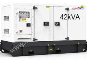 42kVA Heavy Duty Cummins silenced diesel generator