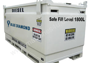 NEW 2000L Self Bunded Baffled Safe Upto 1800L