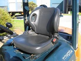 Toyota 2.5t LPG forklift with Weight gauge - picture7' - Click to enlarge