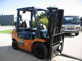 Toyota 2.5t LPG forklift with Weight gauge - picture12' - Click to enlarge