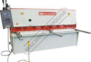 HG-2506 Hydraulic NC Guillotine 2500 x 6mm Mild Steel Shearing Capacity 1-Axis Ezy-Set NC-89 Control