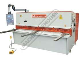 HG-2506 Hydraulic NC Guillotine 2500 x 6mm Mild Steel Shearing Capacity 1-Axis Ezy-Set NC-89 Control - picture4' - Click to enlarge