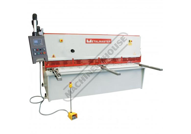 HG-2506 Hydraulic NC Swing Beam Guillotine - Deluxe 2500 x 6mm Mild Steel Shearing Capacity 1-Axis E