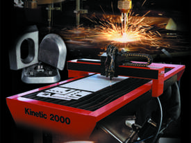 Kinetic K2000 Precision Profile Machine Hypertherm - picture2' - Click to enlarge