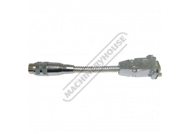 DIN7 Male to DSub9 Female Adaptor Cable 150mm length