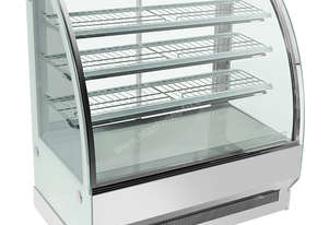F.E.D. CS-1500S3 Bonvue Chilled Curved Glass 4 Levels Food Display