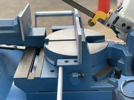Industrial 315mm x 230mm Variable Speed Double Mitre Bandsaw - picture20' - Click to enlarge