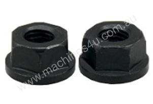 M10 Flange Nuts Pack of 2 Nuts
