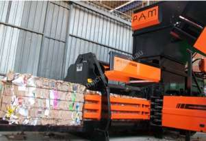 WastePac Super 75ES Automatic Horizontal Baler