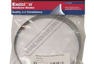B498 Metal Band Saw Blade - 10-14TPI Bi-Metal, Blade - 4178 x 34 x 1.1mm Suitable for Stainless Stee