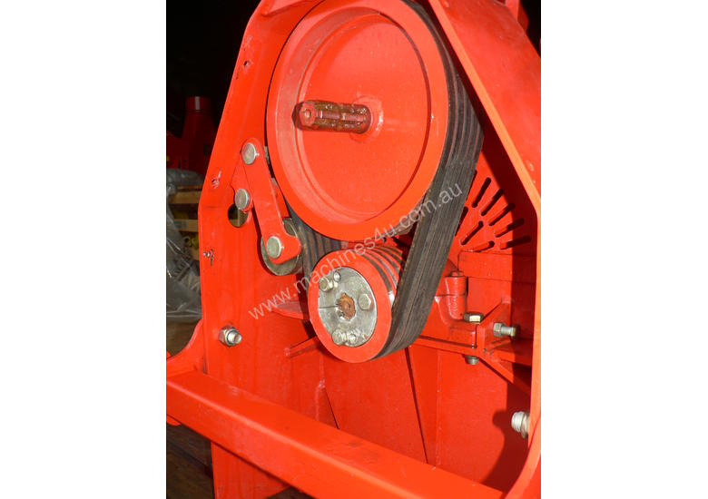 100mm WCA tractor woodchipper
