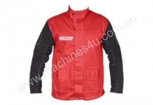 WELDMAX JACKET MEDIUM W/LEATHER SLEEVE