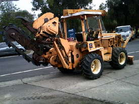 8020  trencher plow / combo , ex telstra fleet , 1668 hrs , new chain sprockets and teeth - picture1' - Click to enlarge