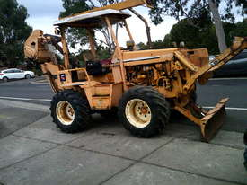 8020  trencher plow / combo , ex telstra fleet , 1668 hrs , new chain sprockets and teeth - picture2' - Click to enlarge