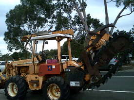 8020  trencher plow / combo , ex telstra fleet , 1668 hrs , new chain sprockets and teeth - picture5' - Click to enlarge