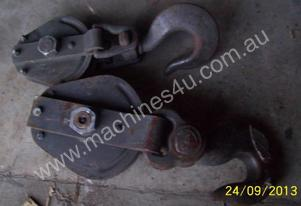 CABLE WINCH SNATCH BLOCK