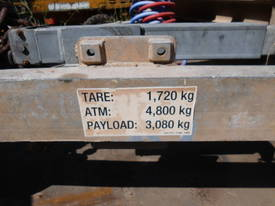 4800Kg ATM  self loadin cable drum trailer - picture4' - Click to enlarge