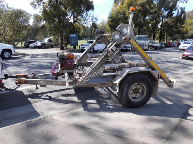 4800Kg ATM  self loadin cable drum trailer