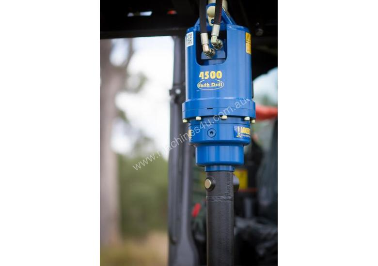New Augertorque Auger Drive for Skid Steer Loaders