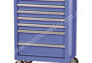 TOOL CABINET 7 DRAWER BLUE STEEL