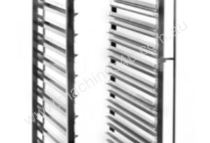 15 Tier Stainless Steel Bakers Trolley - suits 400