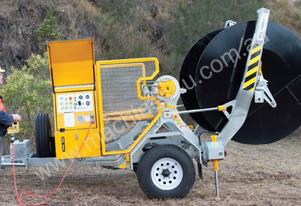 1.5 TONNE SELF LOADING CABLE DRUM TRAILER