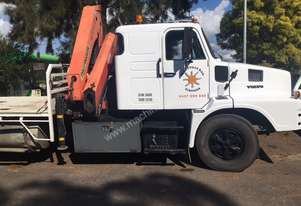 VOLVO N10 6x4 TABLE TOP TRUCK WITH CRANE
